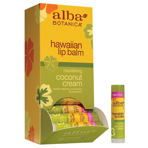Lip Balm, Coconut Cream - (0.15 oz. Tube) - back-to-nature-usa