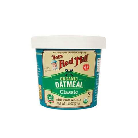 Classic Oatmeal Cups (Gluten-Free) - Kosher - ORGANIC - back-to-nature-usa