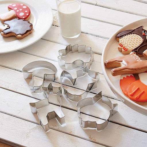 Cookie Cutter Set, Woodland Animals - (5-Piece Set) - back-to-nature-usa