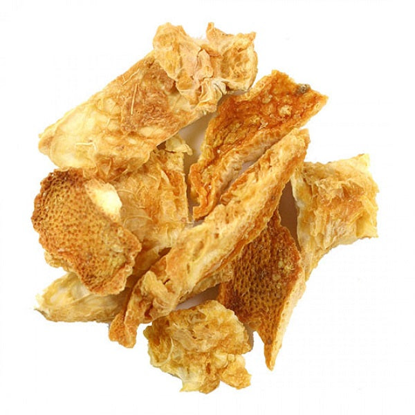 Orange Peel (Cut & Sifted) - Kosher - (1.00 lb.) - back-to-nature-usa