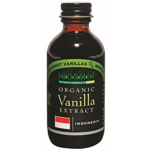 Vanilla Extract (Indonesia) - Kosher - ORGANIC - (2.00 fl. oz. Bottle) - back-to-nature-usa