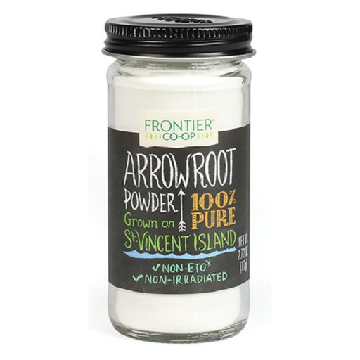 Arrowroot Powder - (2.72 oz. Bottle) - back-to-nature-usa