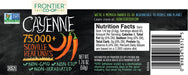 Cayenne (Ground) (75,000 HU) - Kosher - (1.76 oz. Bottle)