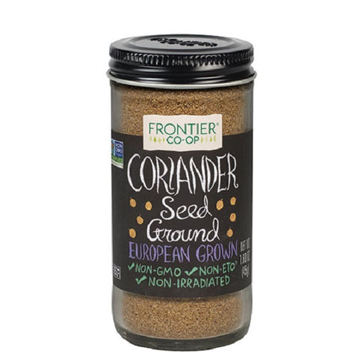 Coriander Seed (Ground) - Kosher - (1.60 oz. Bottle) - back-to-nature-usa