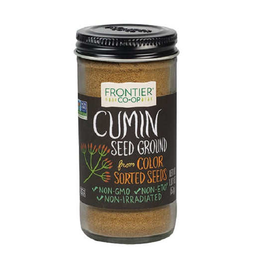 Cumin Seed (Ground) - Kosher - (1.87 oz. Bottle) - back-to-nature-usa