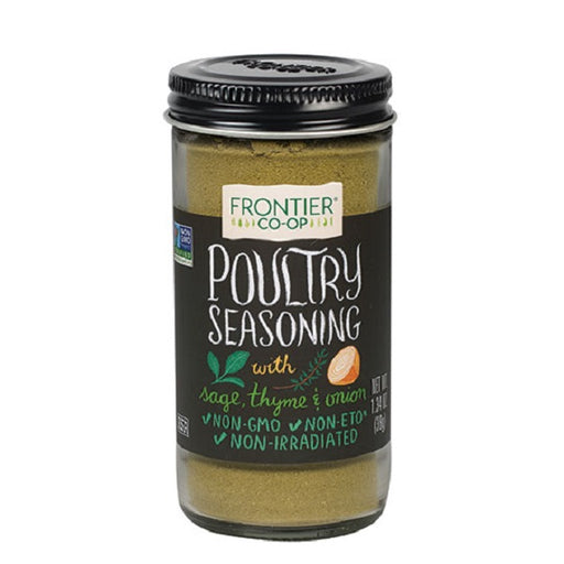 Poultry Seasoning - Kosher - (1.34 oz. Bottle) - back-to-nature-usa