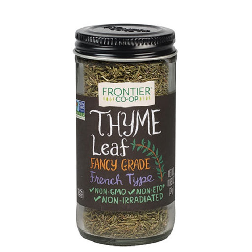 Thyme Leaf (Cut & Sifted) - Kosher - (0.85 oz. Bottle) - back-to-nature-usa