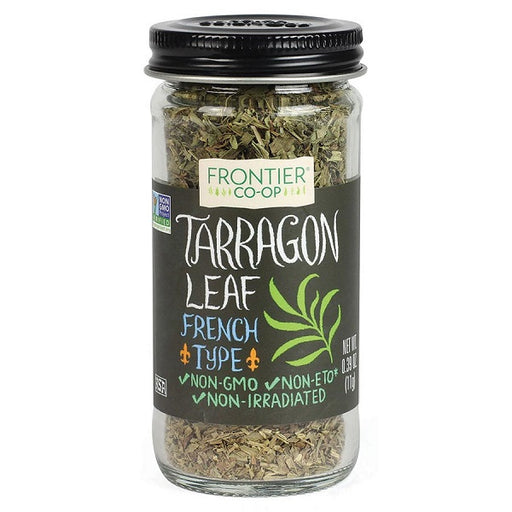 Tarragon Leaf (Cut & Sifted) - Kosher - (0.39 oz. Bottle) - back-to-nature-usa