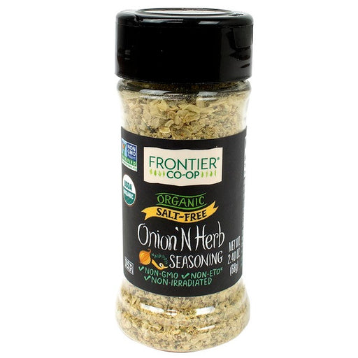Onion & Herb Seasoning - Kosher - ORGANIC - (2.40 oz. Bottle) - back-to-nature-usa