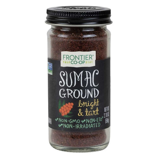 Sumac (Ground) - Kosher - (2.10 oz. Bottle) - back-to-nature-usa