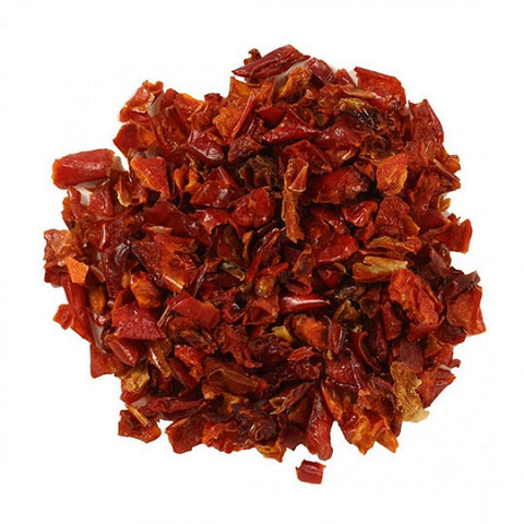 Red Bell Peppers (Diced) - Kosher - back-to-nature-usa