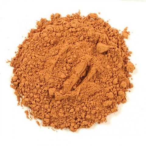 French Red Clay Powder - Kosher - back-to-nature-usa