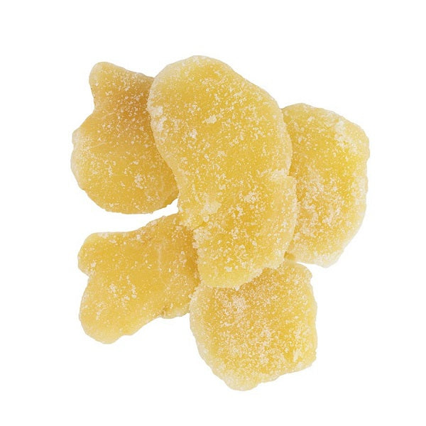 Ginger, Crystallized (Slices) - (1.00 lb.) - back-to-nature-usa