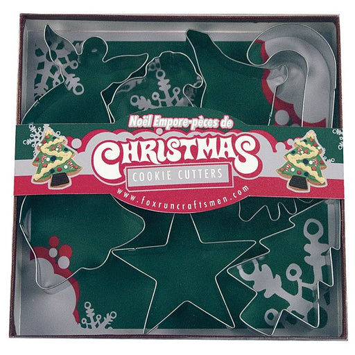 Cookie Cutter Set, Christmas - (7-Piece Set) - back-to-nature-usa