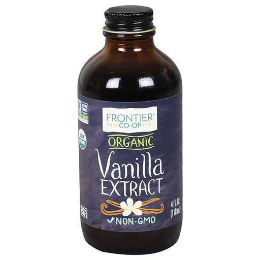 Vanilla Extract - Kosher - ORGANIC - (4.00 fl. oz. Bottle) - back-to-nature-usa