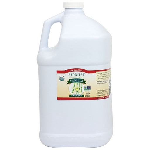 Vanilla Extract - Kosher - ORGANIC - (1.00 Gallon Jug) - back-to-nature-usa