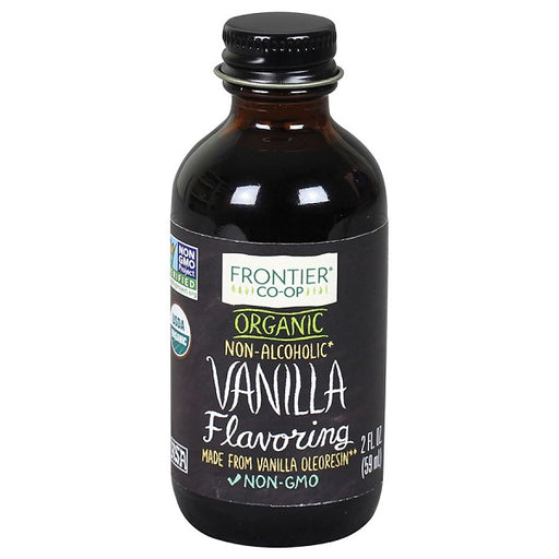 Vanilla Flavoring - Kosher - ORGANIC - (2.00 fl. oz. Bottle) - back-to-nature-usa