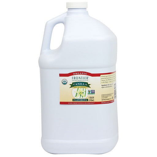 Vanilla Flavoring - Kosher - ORGANIC - (1.00 Gallon Jug) - back-to-nature-usa