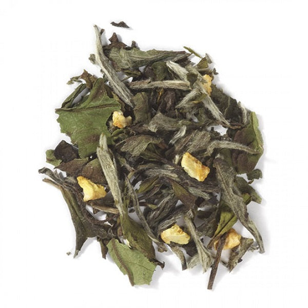 White Tea with Fruit (Tangerine-Flavored) - ORGANIC - (1.00 lb.) - back-to-nature-usa