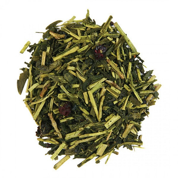 Green Kukicha Tea (Blueberry) - Kosher - ORGANIC - (1.00 lb.) - back-to-nature-usa