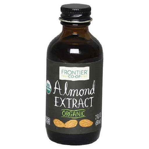 Almond Extract - Kosher - ORGANIC - (2.00 oz. Bottle) - back-to-nature-usa