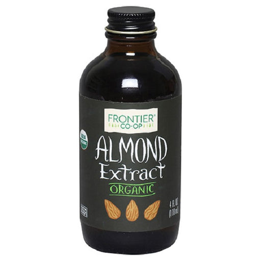 Almond Extract - Kosher - ORGANIC - (4.00 oz. Bottle) - back-to-nature-usa