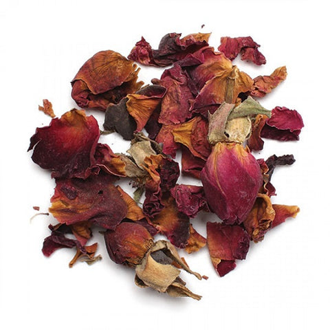 Red Rose Buds & Petals (Whole) - Kosher - back-to-nature-usa