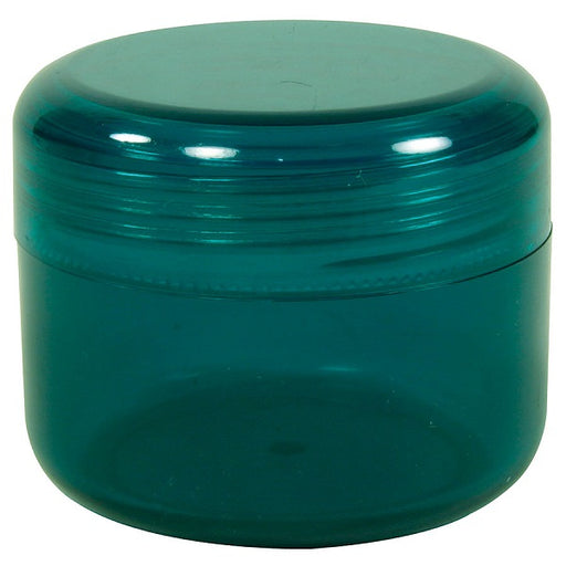 Container with Domed Lid, Emerald Green - (2.00 oz.) - back-to-nature-usa