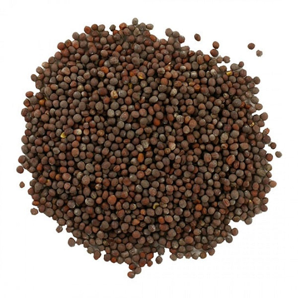Mustard Seed (Brown) (Whole) - Kosher - (1.00 lb.) - back-to-nature-usa