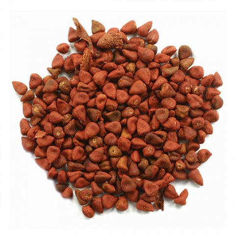 Annatto Seeds (Whole) - Kosher - back-to-nature-usa