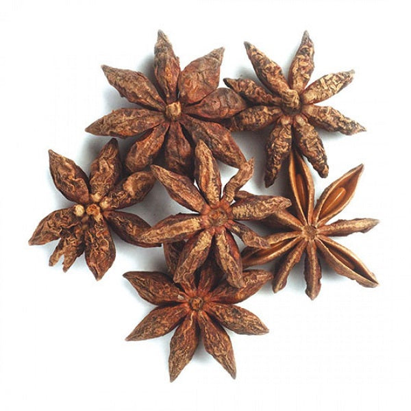Star Anise (Whole) (Select-Grade) - Kosher - ORGANIC - (1.00 lb.) - back-to-nature-usa