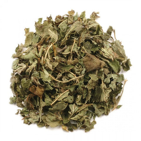 Lemon Balm Leaf (Cut & Sifted) - Kosher - ORGANIC - back-to-nature-usa