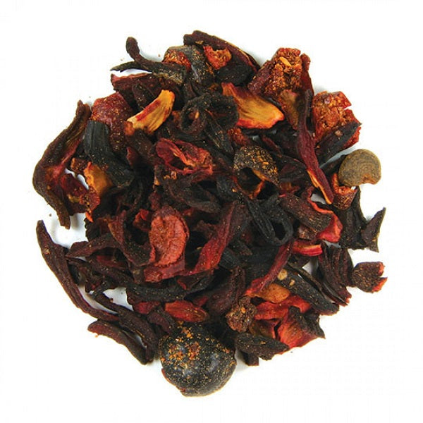 Warming Crimson Berry Tea - Kosher - ORGANIC - (1.00 lb.) - back-to-nature-usa