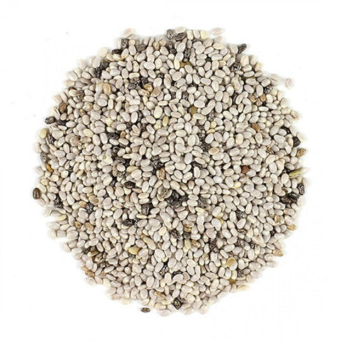 Chia Seeds (Whole) (White) - Kosher - ORGANIC - Back to Nature USA