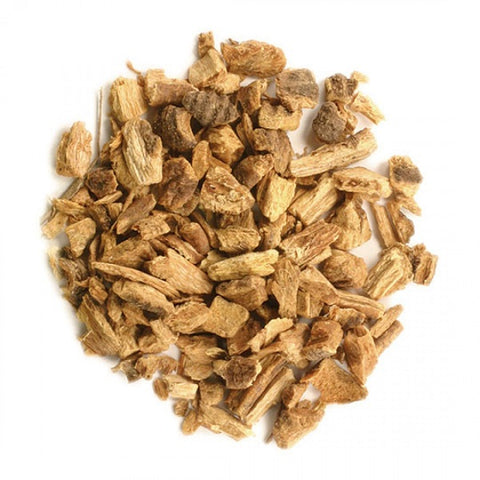 Gentian Root (Cut & Sifted) - Kosher - back-to-nature-usa