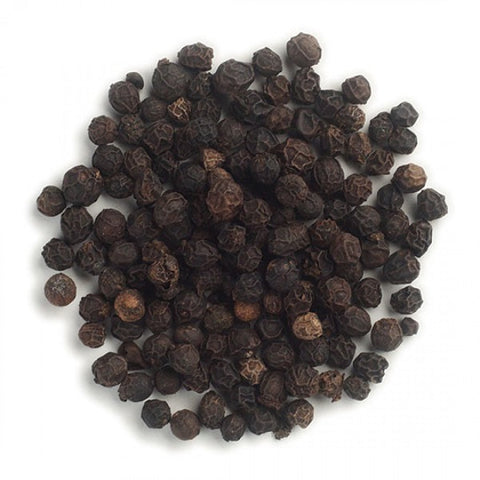 Peppercorns (Whole) (Black) (Fair Trade) - Kosher - ORGANIC - back-to-nature-usa