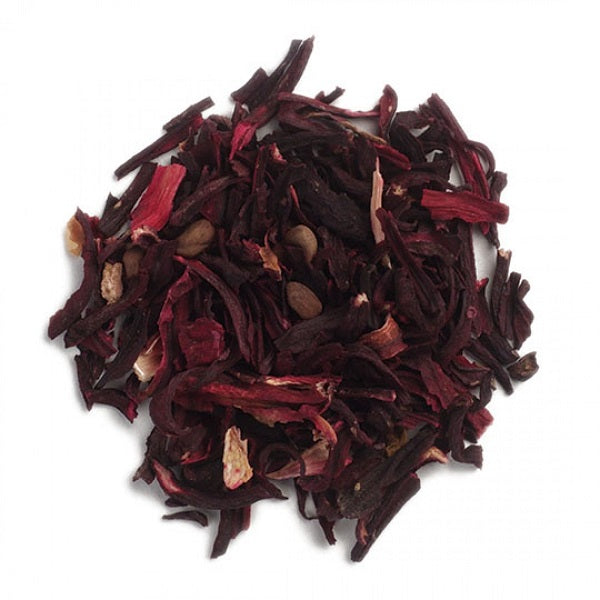 Hibiscus Flowers (Cut & Sifted) - Kosher - (1.00 lb.) - back-to-nature-usa