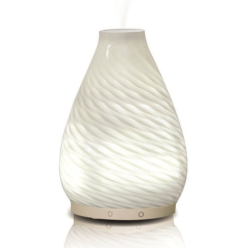 Kanalu White Glass Diffuser - back-to-nature-usa