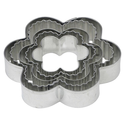 Cookie Cutter Set, Flowers - (5-Piece Set) - back-to-nature-usa