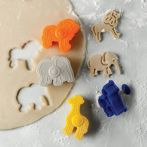 Cookie Cutter Set, Animal Crackers - (4-Piece Set) - back-to-nature-usa