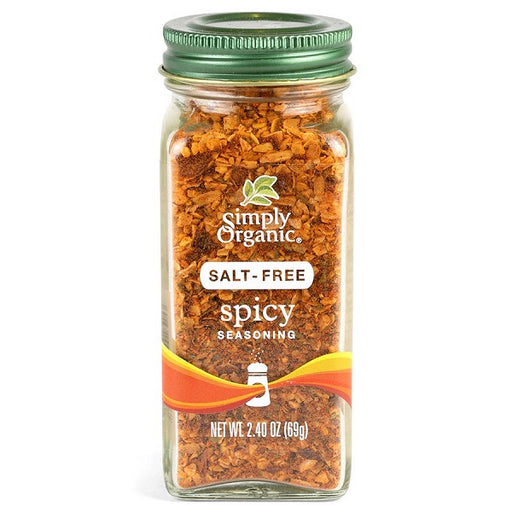 Spicy Seasoning - Kosher - ORGANIC - (2.40 oz. Bottle) - back-to-nature-usa