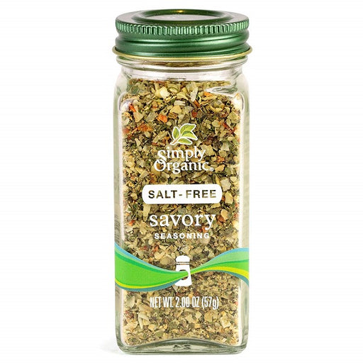 Savory Seasoning - Kosher - ORGANIC - (2.00 oz. Bottle) - back-to-nature-usa