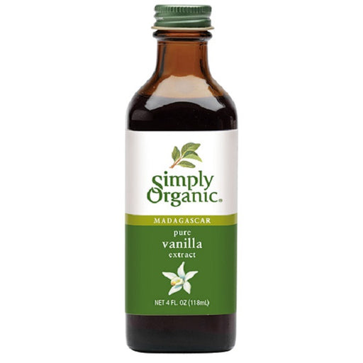 Pure Vanilla Extract - Kosher - ORGANIC - (4.00 fl. oz. Bottle) - back-to-nature-usa