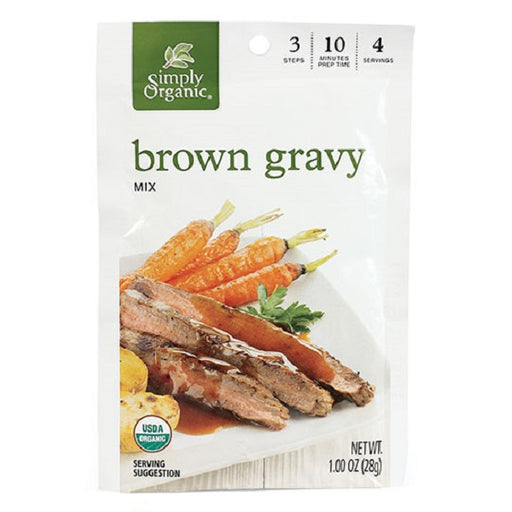 Brown Gravy - ORGANIC - (1.00 oz. Packet) - back-to-nature-usa