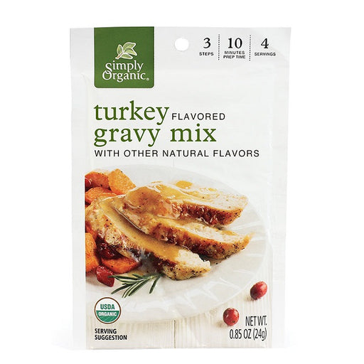 Turkey Flavored Gravy Mix - ORGANIC - (0.85 oz. Packet) - back-to-nature-usa
