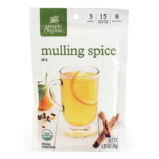 Mulling Spice - Kosher - ORGANIC - (1.20 oz. Packet) - back-to-nature-usa