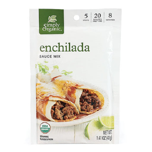 Enchilada Sauce - Kosher - ORGANIC - (1.41 oz. Packet) - back-to-nature-usa
