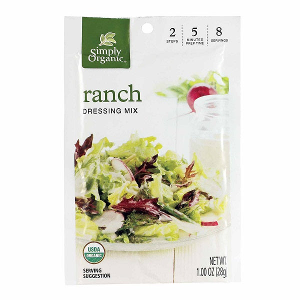 Ranch - Kosher - ORGANIC - (1.00 oz. Packet) - back-to-nature-usa