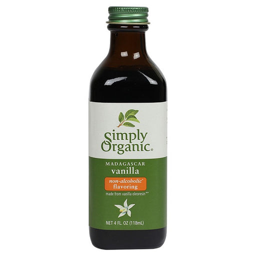 Vanilla Flavoring - ORGANIC - (4.00 fl. oz. Bottle) - back-to-nature-usa