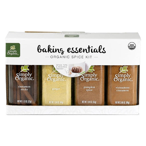 Baking Gift Pack - Kosher - ORGANIC - (4 Pack) - back-to-nature-usa